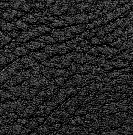 creased: Background of black leather