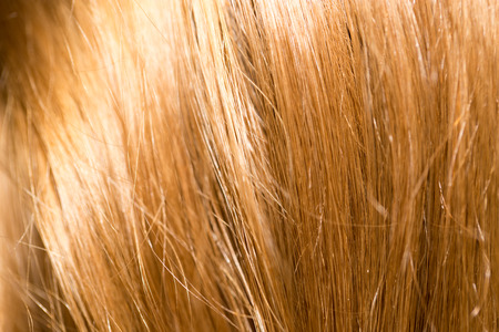 blonde streaks: blonde hair close up