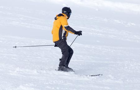 narciarz: skier skiing Zdjęcie Seryjne