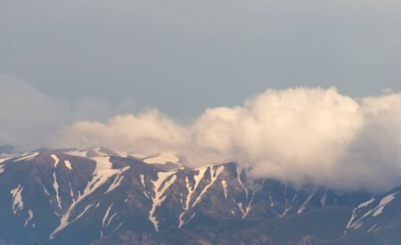 tien shan: Tien Shan Mountains after the storm