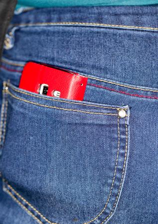 pocket: cell phone pocket