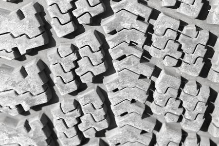 tread: background of the wheel tread
