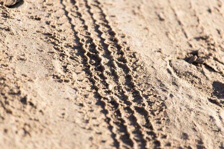 rodamiento: huella de la pisada del neumático
