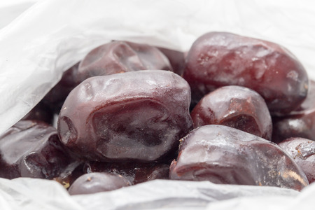 homeopath: Dates in a plastic bag
