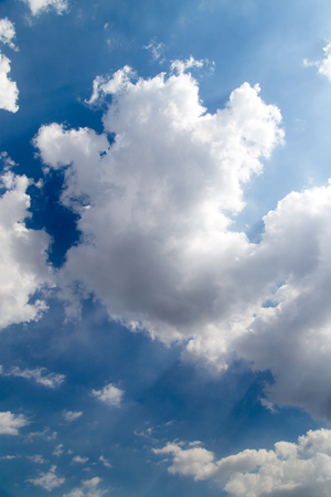 beautiful sky: beautiful sky background with clouds