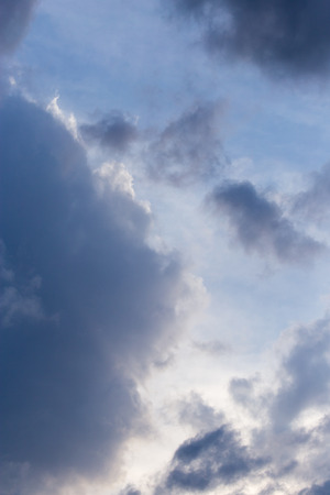 cumulus: storm clouds in the sky as the background