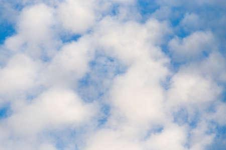 cumuli: beautiful clouds in the blue sky