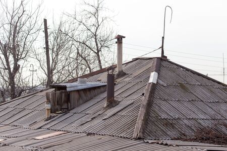 rooftile: old roof as the house