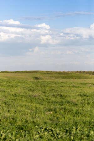 non urban: Spring in the steppes of Kazakhstan Stock Photo