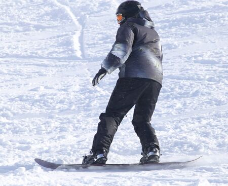 snowboarding: people snowboarding on the snow