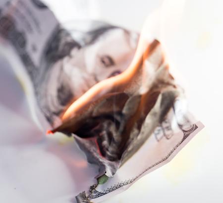burn: 100 USD burn