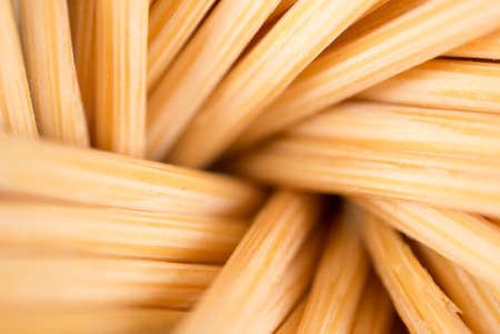 detritus: toothpicks as a background. macro