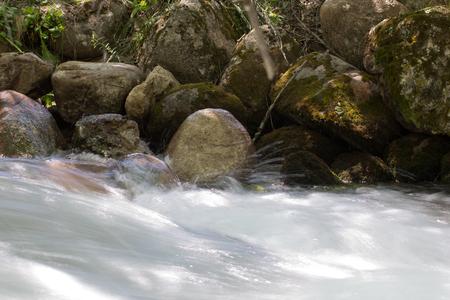 unaffected: beautiful river in nature