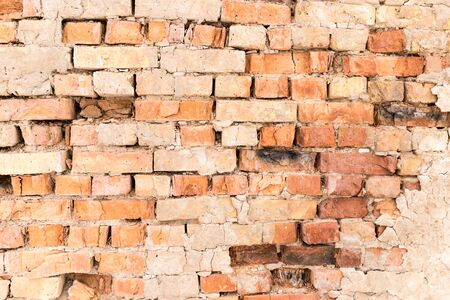 old brick wall: Old brick wall as background