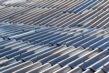 slate roof: Slate roof as a backdrop. texture Stock Photo