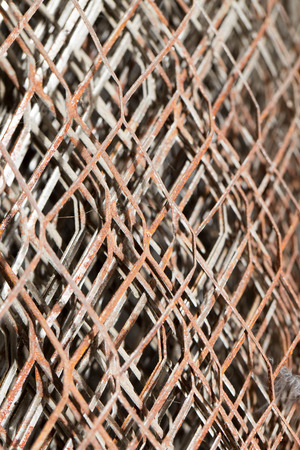 metal mesh: Background of rusty metal mesh