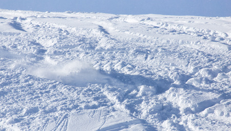 slope: snow slope for skiing