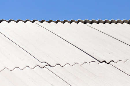 slate roof: old slate roof as background