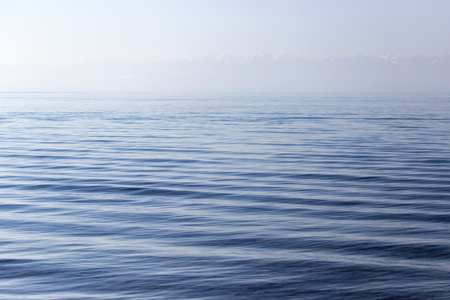 expanse: expanse of water in the lake as a backdrop