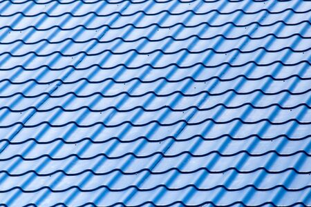 metal roof as background