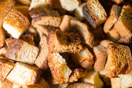 crumbs: crumbs of bread as background Stock Photo