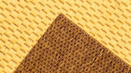 wool rugs: material from the carpet as background Stock Photo