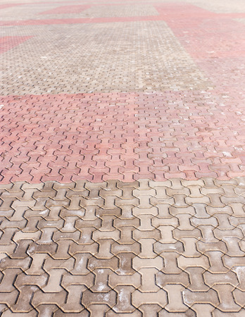 Pavement as background