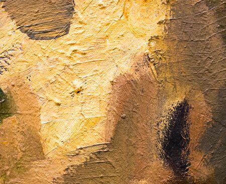 Sfondo astratto di vernice a olio su tela. Archivio Fotografico - 81872151