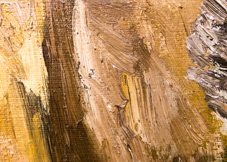 Abstract background of oil paint on canvas . Standard-Bild