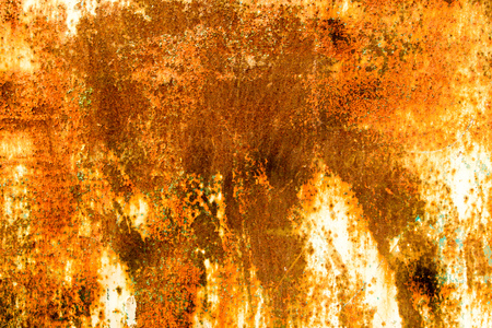 Abstract background of rusty metal gate