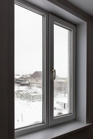 Window in the house from the inside