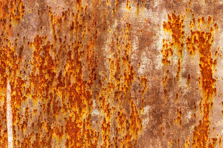 Rust on metal as abstract background. Banco de Imagens