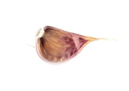 Garlic isolated on a white background.