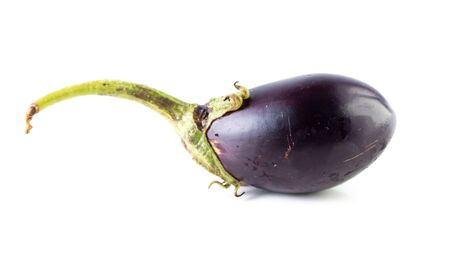 Eggplant isolated on a white background. Stock fotó