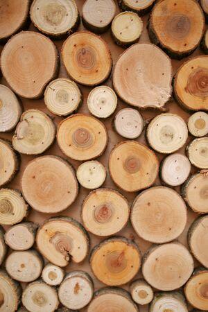 Holzhäuser als Hintergrund. Textur