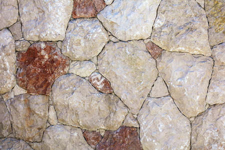 Stone bricks in the wall as an abstract background. Texture