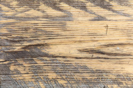 Old wooden board as an abstract background. Texture