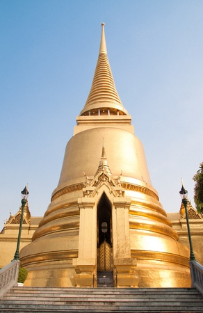 Temple with Budha Stock Photo