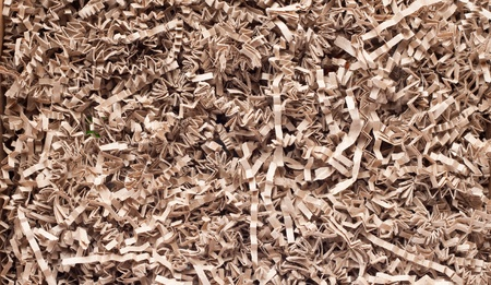 texture of shredded paper for Gifting, Shipping and Stuffing photo