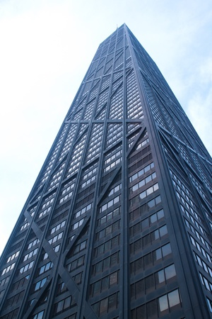 hancock building: The John Hancock center, skyscraper, Chicago