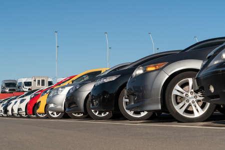 Used car sales market