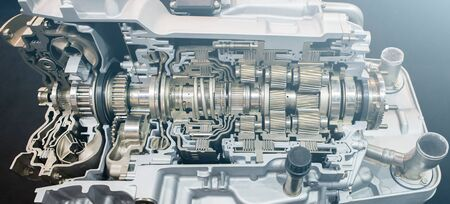 Automatic transmission for truck in section