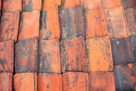 Old red tiles