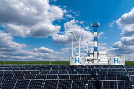 Hydrogen factory concept