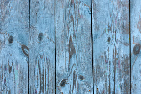 Painted old vintage blue and gray wooden textured wall, close up. Vintage background. Copy space. 版權商用圖片 - 154875232