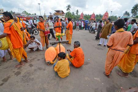 ratha yatra festival at puri odisha india