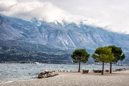 vapore acqueo: Lago di Garda, Italia