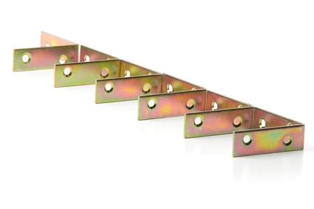 Metal corners for fastening