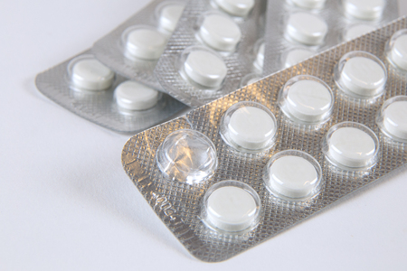 Tablets in the package, medicine