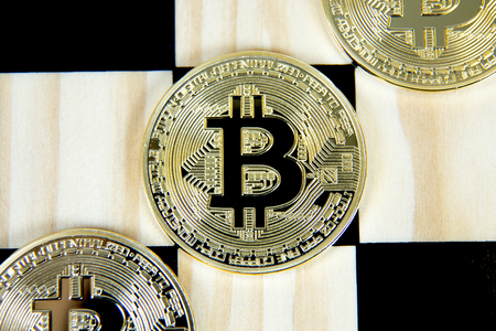 bitcoins on the chess Board